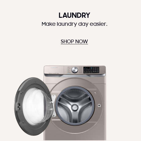 samsung laundry appliances