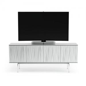 BDITanami TV Cabinet - Smooth Satin White