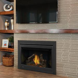 Napoleon FireplacesAscent Series Direct Vent Natural Gas Fireplace (Millivolt)