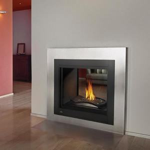 Napoleon FireplacesHigh Definition Clean Face See Thru with Glass Direct Vent Gas Fireplace