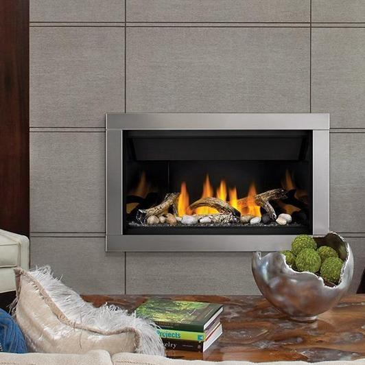 Bl36nte-1napoleon Fireplaces Ascent Top Vent Direct Vent Linear Natural Gas Fireplace