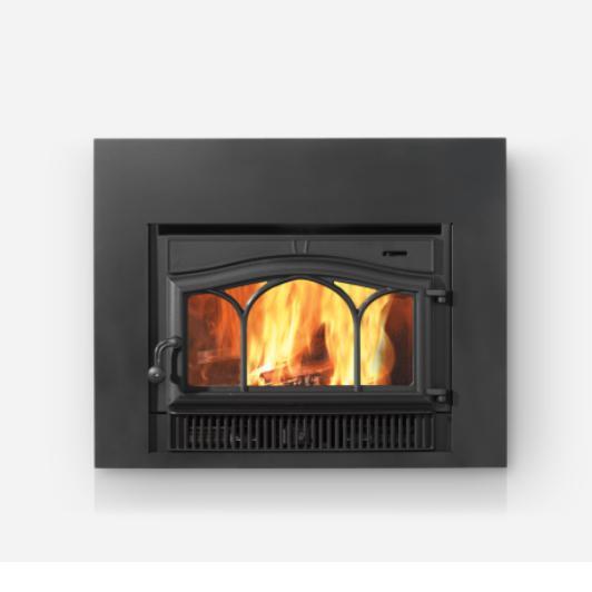 Wood Burning Fireplace Firebox Insert