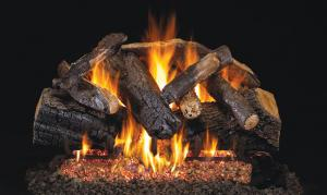 "Real Fyre24"" Charred Majestic Oak Log Set"