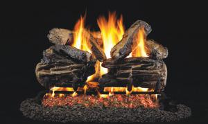 "Real Fyre18"" Charred Split Oak Log Set"