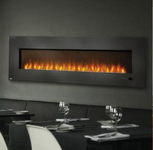 "Napoleon FireplacesSlimline Series 72"" Wall Hanging Electric Fireplace"