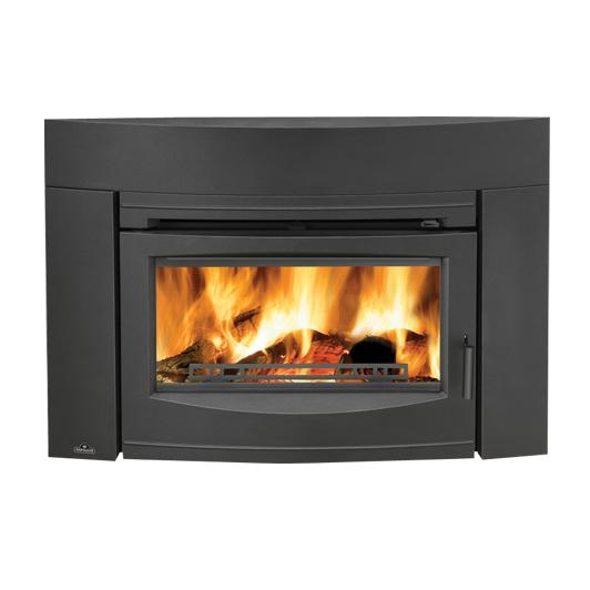 Epi3cnapoleon fireplaces oakdale series cast iron wood Contemporary wood burning fireplace inserts