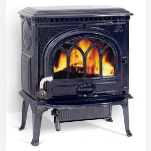 JotulWood Stove Blue Black Enamel