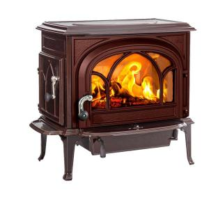 JotulJotul Oslo Clean Burning Wood Stove - Brown Majolica
