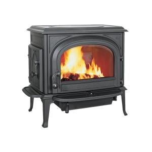 JotulOslo Clean Face Wood Stove - Black Paint
