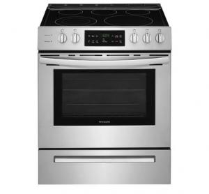 "Frigidaire30"" Freestanding Electric Range Stainless Steel"
