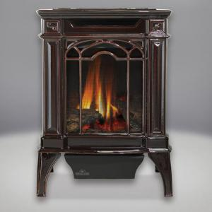 Napoleon FireplacesArlington Direct Vent Cast Iron Gas Stove (Majolica Brown)