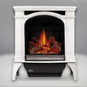 Napoleon FireplacesBayfield Direct Vent Cast Iron Gas Stove (Winter Frost)