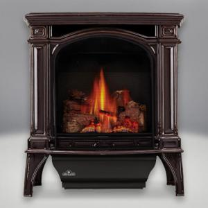 Napoleon FireplacesBayfield Direct Vent Cast Iron Gas Stove (Majolica Brown)
