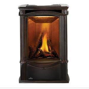 Napoleon FireplacesCastlemore Direct Vent Cast Iron Gas Stove - Majolica Brown