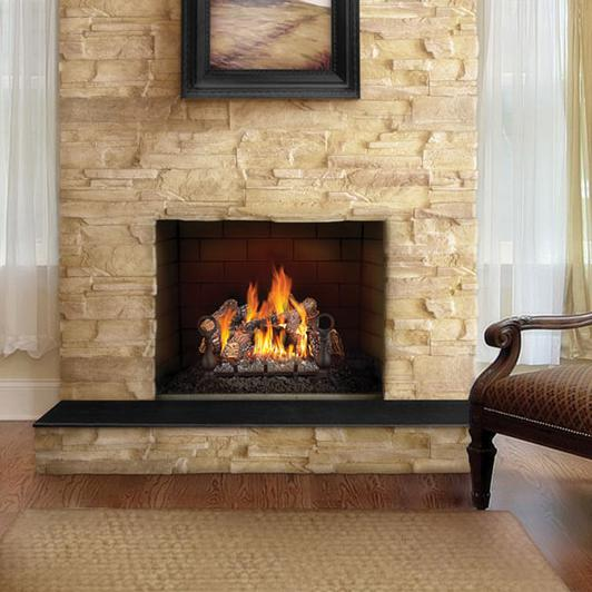 Gl18nenapoleon Fireplaces 18 Quot Fiberglow Natural Gas Log