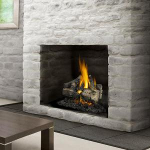 "Napoleon FireplacesVerso Series 22"" Natural Gas Log Set"