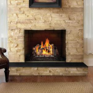 "Napoleon Fireplaces24"" FiberGlow Natural Gas Log Set"