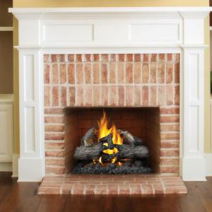 "Napoleon FireplacesVerso Series 28"" Natural Gas Log Set"