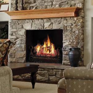 "Napoleon Fireplaces30"" FiberGlow Natural Gas Log Set"