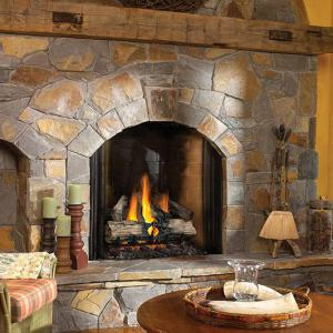 "Napoleon FireplacesVerso Series 32"" Natural Gas Log Set"