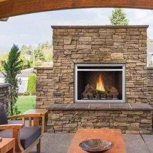 Napoleon FireplacesRiverside 36 Clean Face Outdoor Gas Fireplace