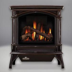 Napoleon FireplacesKnightsbridge Vent Free Cast Iron Natural Gas Stove (Majolica Brown)