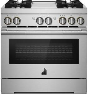 "Jenn-Air36"" Smart Dual Fuel Professional Range"