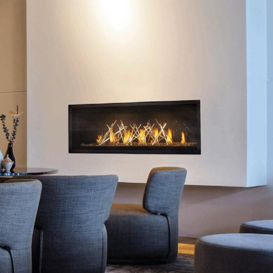 Lvx50nxnapoleon Fireplaces Luxuria 50 Linear Direct Vent Natural Gas
