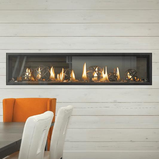 Lvx74n2xnapoleon Fireplaces Luxuria 74 See Thru Linear Direct Vent