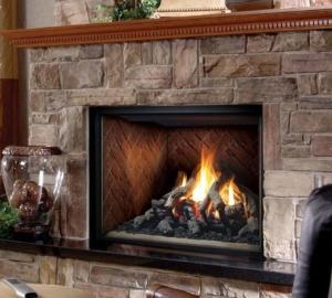 "Marquis42"" Solace Classic Direct Vent Natural Gas Fireplace"