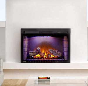 "Napoleon FireplacesCinema Series 29"" Built-In Electric Fireplace"