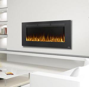 "Napoleon FireplacesAllure Series 50"" Wall Hanging Electric Fireplace"