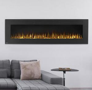 "Napoleon FireplacesAllure Series 72"" Wall Hanging Electric Fireplace"