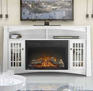 Napoleon FireplacesThe Adele Electric Fireplace Mantel Package