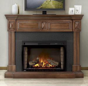 Napoleon FireplacesThe Braxton Electric Fireplace Mantel Package
