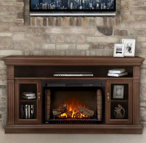 Napoleon FireplacesThe Canterbury Electric Fireplace Mantel Package