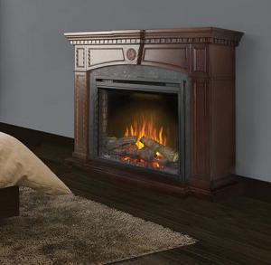 Napoleon FireplacesThe Harlow Electric Fireplace Mantel Package