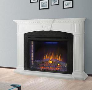 Napoleon FireplacesThe Taylor Electric Fireplace Mantel Package