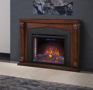 Napoleon FireplacesThe Monroe Electric Fireplace Mantel Package