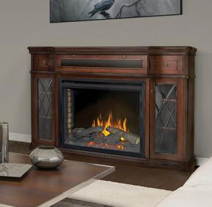Napoleon FireplacesThe Colbert Electric Fireplace Mantel Package