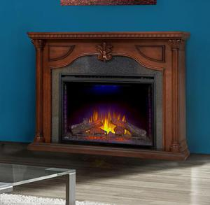 Napoleon FireplacesThe Aden Electric Fireplace Mantel Package