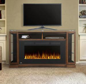 Napoleon FireplacesThe Shelton Electric Fireplace Mantel Package