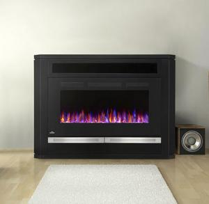 Napoleon FireplacesThe Alanis Electric Fireplace Mantel Package