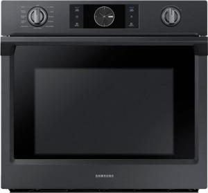 "Samsung Appliances30"" Wall Oven Black Stainless Steel"