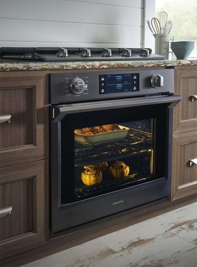 Nv51k7770sgsamsung Appliances 30 Quot Wall Oven Black