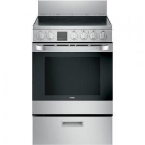 "Haier Appliance24"" Freestanding Stainless Steel Electric Range"