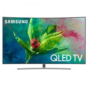 "Samsung Electronics55"" curved Smart QLED 4K Ultra HD TV with HDR"