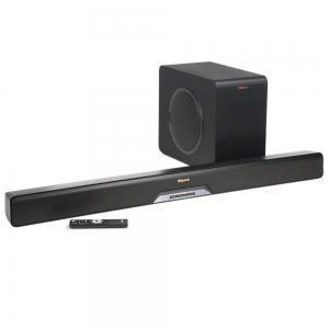 KlipschReference Powered Soundbar with 4K video Passthrough and Subwoofer