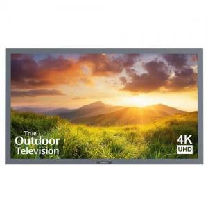 "SunBrite TV55"" Signature Series Weatherproof Outdoor LED 4K Ultra HDTV Silver"