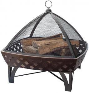 Blue RhinoOutdoor Firebowl with Lattice